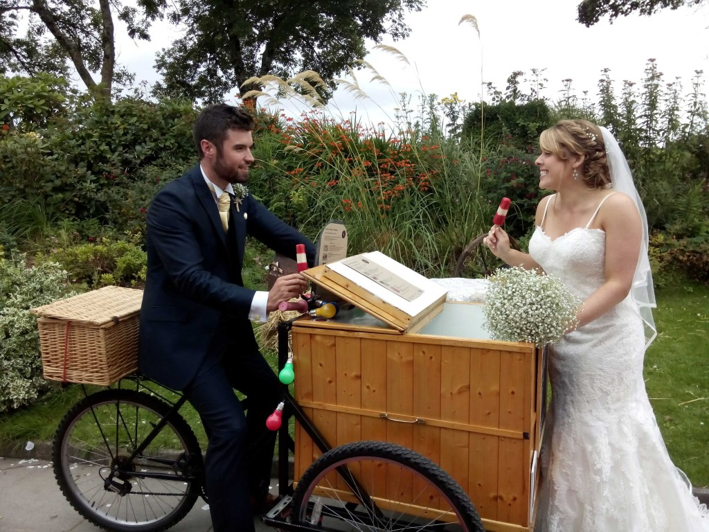 Pop Cycle wedding hire