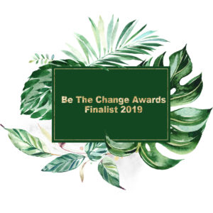 Finalist Badge Be the Change Awards